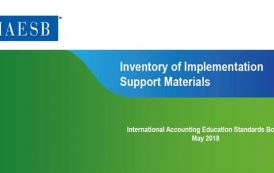 مجموعه مطالب آموزشی پشتیبان برای استانداردهای بین المللی آموزش حسابداری