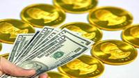 نوسان قیمت سکه در بازار